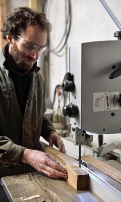 Portrait Nicolas Palmade, coutelier à L'Atelier la Bigorne